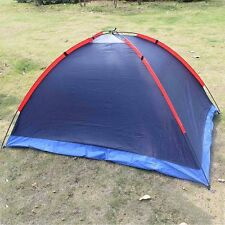 New Waterproof 2 Person Family Hiking Camping Tent Single Layer Outdoor 2 Colors