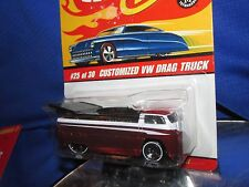 Hot Wheels classics V W DRAG BUS VAN TRUCK brown VOLKSWAGON very nice sealed