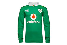 Canterbury Ireland IRFU 2016/17 Home Classic L/S Rugby Shirt