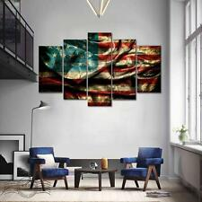 HD Modern Abstract Canvas Art Oil Painting Fire Painted Home Wall Deco