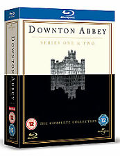 DOWNTON ABBEY SERIES ONE & TWO BLU-RAY BOX SET - NEW & SEALED.