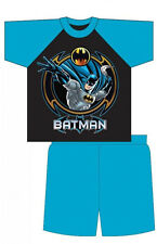 Boys Batman Short Pjs Pyjamas Sleepwear Pajamas 4 5 6 7 8 9 10 years kids pyjama