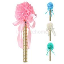 MagiDeal Wedding Flower Wand Guest Book Signing Ball Pen Table Decor 4 colors
