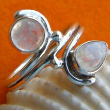 925 Sterling Silver Rainbow Moonstone Ring,Moonstone Ring, Jaipur Moonstone Ring