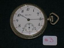BEAUTIFUL VINTAGE, 17 JEWELS HAMILTON 975 POCKET WATCH