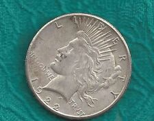 1922-s  Peace Dollar   Ungraded  90% Silver Coin  PP7801