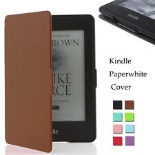 Smart Magnetic Leather Stand Intelligence Slim Case Cover For Amazon Kindle 6