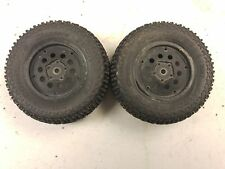 Jconcepts Choppers 3067 1/10 Short Course Truck Tires Black Wheels 12mm hex Losi