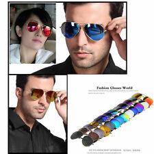 Unisex Women Men Vintage Retro Fashion Mirror Lens Sunglasses Glasses SR