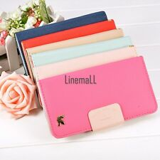 New Korean Bird Wallet Synthetic Leather Case Cover For Apple iPhone 6 plus LM01