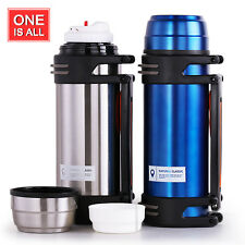 ONEISALL 1.8L Stainless Steel Vacuum Flask Double Wall Insulated Thermos Flask