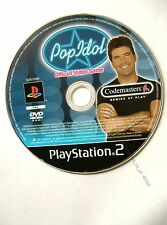 45305 Pop Idol Official Video Game - Sony Playstation 2 (2003) SLES 51825
