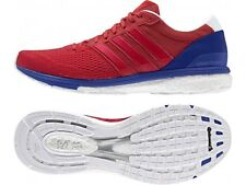 NEW MENS ADIDAS BOOST ADIZERO BOSTON 6 RUNNING SHOE ULTRA AQ5989 RED/BLUE $150