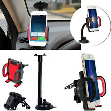 Red 2in1 -MD268 Car Windshield Dashboard +Air Vent Holder Stand For Phone Lenovo