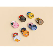 Kakao Friends Character Round paper Stickers official goods comic