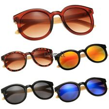 New Unisex Women's Men's Retro Style Round Plastic Eyewear Sunglasses LM01