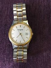 Vintage Wittnauer wristwatch- Rare*Two tone JV8074 0705