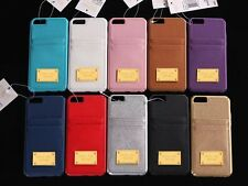 Fits iPhone 6/ iPhone 6s Michael Kors Leather Pocket Case cover retail packaging