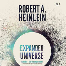 Expanded Universe, Vol. 2 by Robert A. Heinlein CD 2015 Unabridged