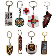 West Ham United F.C Official Licensed Football Team KeyRings Design Crest Gift