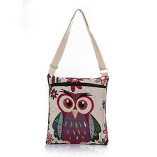 Womens Bags Casual Women's Handbags Canvas Tote Messenger Shoulder Bags Print