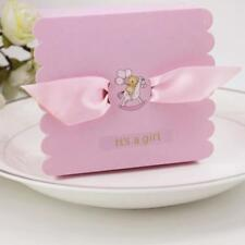50x Its A Girl Boy Candy Gift Paper Boxes Baby Shower Birthday Party Favor