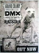 DMX Grand Champ VERY RARE Aust. Promo Only HUGE Billboard Album Poster Hip Hop