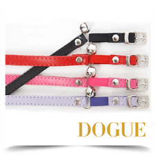 DOGUE Plain Cat Collar with bell