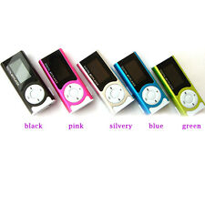 Mini Clip Metal USB MP3 Player Music Media Player Support Micro TF Card Gifts