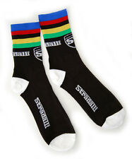 STRADALLI CYCLE WORLD CHAMPION AIREATOR ROAD BICYCLE MTB BIKE CYCLING SOCKS NEW