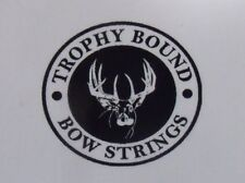 Reflex compound bow string Custom Colors Trophy Bound various model bows