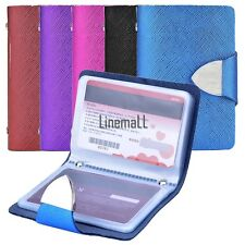 Synthetic Leather Business Case Wallet ID Credit Card Holder Purse For 26 LM02