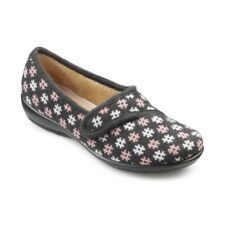 Hotter Thyme - Grey Pink Womens Slippers