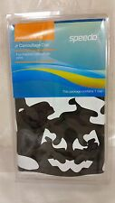 SPEEDO JUNIOR SILICONE SWIM CAP WHITE CAMO COLOR NEW SEALED PACKAGE FREE SHIPPNG