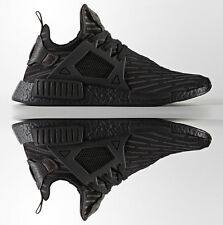ADIDAS NMD XR1 PRIMEKNIT 2017 CASUAL MEN's TRIPLE BLACK BOOST NEW AUTHENTIC US