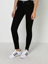 New Cheap Monday Womens High Spray Skinny Jeans In Black Denim Jeans Skinny