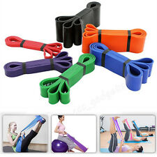 Resistance Bands Exercise Loop Crossfit Strength Weight Training Fitness Yoga AU