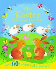 Easter Activity Book, Easter Sticker Book - MY EASTER MAKE AND DO BOOK - NEW