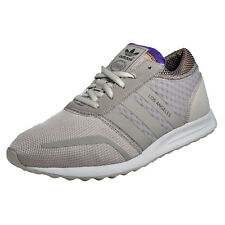 Adidas Originals Los Angeles Mens Classic Casual Retro Trainers Beige