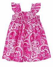 NWT Gymboree SPICE MARKET Pink Paisley Smock Dress Toddler Girl