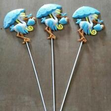 12 Boy Girl Baby Shower Stork Cake Topper Table Favor Centerpiece Decoration