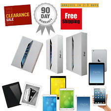 Apple iPad Air,mini,2,3,4 128GB 64GB 32GB 16GB Wi-Fi+4G Cellular AT&T Verizon