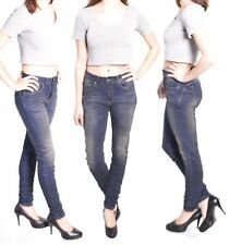 425 Women Jeans Hipster Jeans Pants Tube Trousers