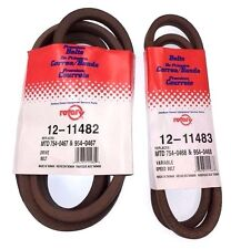 1 Set Variable Speed Drive Belts 754-0467 754-0467A 754-0468 954-0467 954-0468