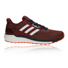 Adidas Supernova Mens White Red Cushioned Running Road Sports Shoes Trainers