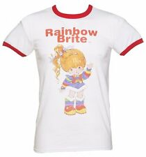 Official Men's Vintage Rainbow Brite Ringer T-Shirt