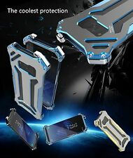 Shockproof Aluminum Metal Case Cover For Samsung Galaxy S8 S8 Plus R-JUST Gundam