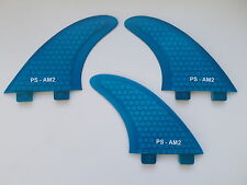 Al Merrick template AM2 PERFORMANCE CORE surfboard FINS (set x 3) FCS compatible