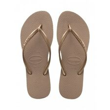 Havaianas Slim - Rose Gold Womens Sandals