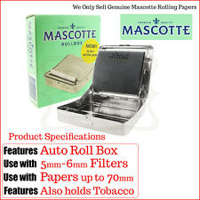 Automatic Cigarette Rolling Machine - Mascotte Roll Box Slim - Buy 1 & 2